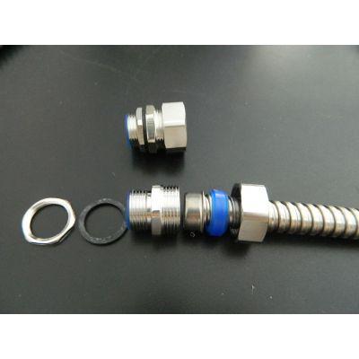 黄山不锈钢端式接头_Φ20-M25不锈钢外丝接头_不锈钢金属软管接头价格