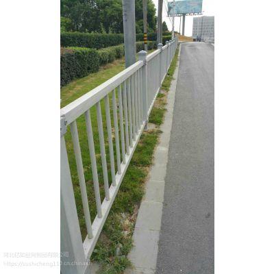 黄浦道路两侧方管防腐蚀玻璃钢组装围栏厂家