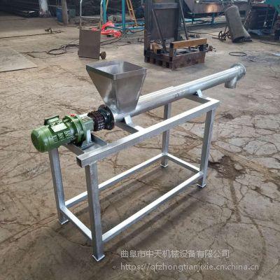 电动螺旋提升机规格 上料用螺旋提升机电话湘潭 厂家推荐中天