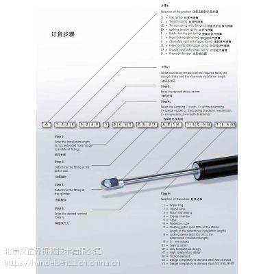 超短货期供应 HAHN气弹簧 G 06-19