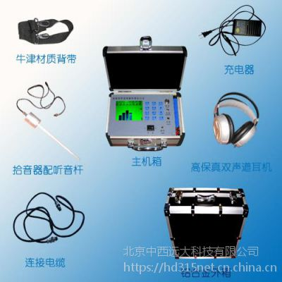 中西 高精度管道漏水探测定位仪 型号:PL09-PLH-42库号:M297474