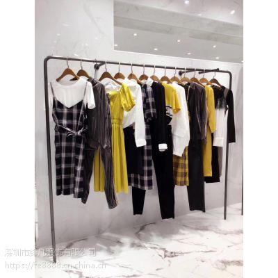 欧时利18冬装女装 品牌折扣品牌女装专柜正品库存连衣裙风衣