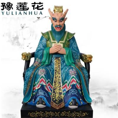 黑脸五爷佛像 图片 黑脸五爷神像 邓州豫莲花雕塑厂家订购
