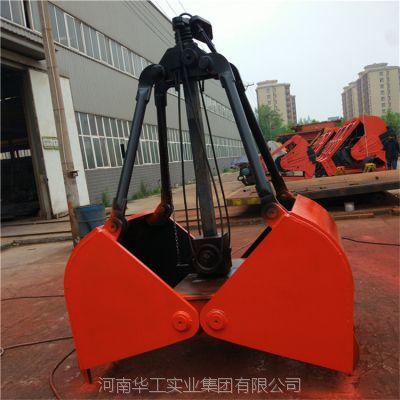 亚重1.5立方轻型单绳抓斗 配5吨行车 抓污泥/淤泥/水渣抓斗 专业厂家