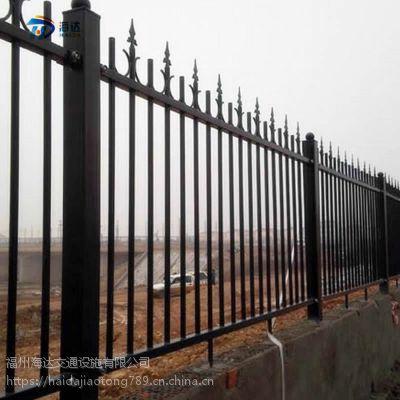 福建厂家热卖庭院锌钢护栏小区围栏别墅锌钢栅栏可定制
