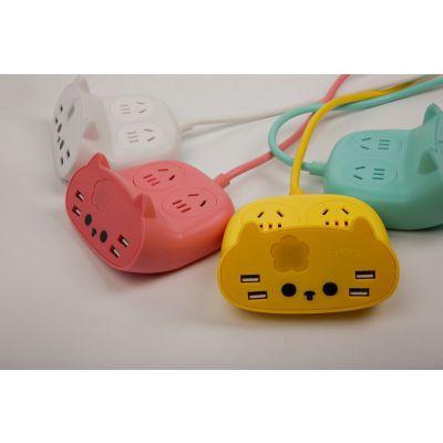中喵文化创意USB猫插排K2给猫奴的礼物