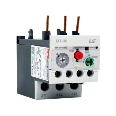 原厂LG旗下-LS乐星产电 热过载继电器MT-32/3H整定电流范围(可选)