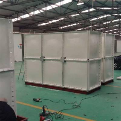 10吨玻璃钢模压水箱价格-中祥空调-江西玻璃钢模压水箱