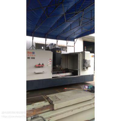 二手1690硬轨立式加工中心,苏州汉奇立式加工中心型号VMC-1690B
