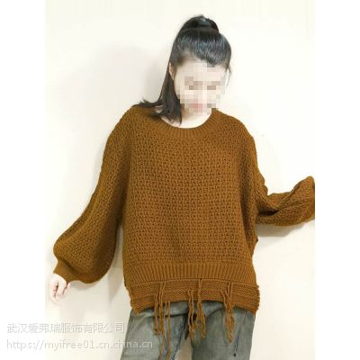 怎样找服装货源公司【现货】乙佰乙纳长款毛衣