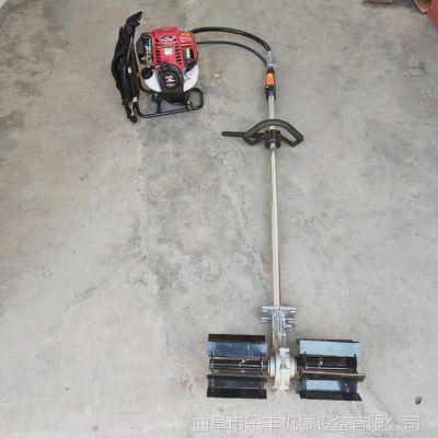 二冲程背负式除草机 果园农用背负式锄地机小型轻便牧草收割机