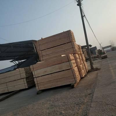 辐射松建筑工地木方尺寸-辐射松建筑工地木方-日照博胜木材厂