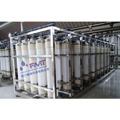 中空纤维膜工程,设备集成度高,料液过滤效率高