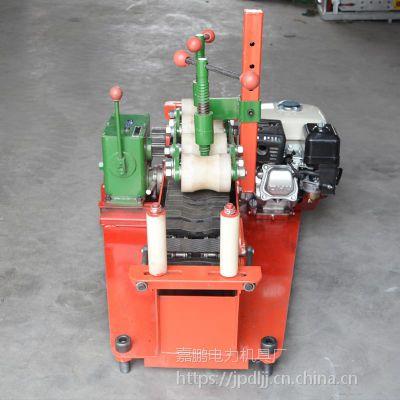 30mm-180mm汽油电缆输送机价格 嘉鹏线缆传送机 电缆敷设机包邮