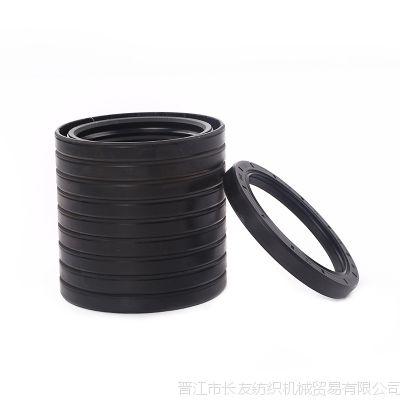 厂家专业供应 优质丁腈橡胶密封件曲轴前后油封 纺织机械油封配件