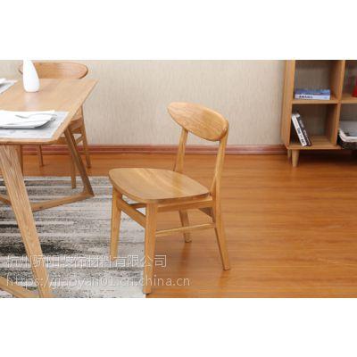 软装日式纯实木餐椅刺绣背景墙手绘护墙板leqifei.com