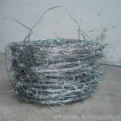 青海刺丝网批发 围墙铁刺丝价格 镀锌刺绳价格