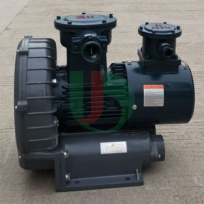 工业低噪音高压变频防爆鼓风机