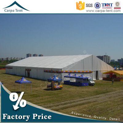 广州厂家供应10米欧式白色A型篷房(可印刷广告)-人字形帐篷