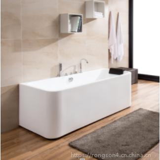 成人独立式与快乐长方形高品质欧式高端亚克力浴缸