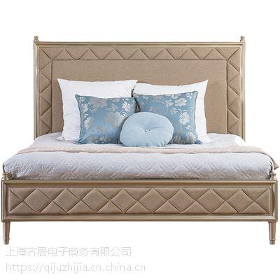 供应欧式家具地中海风格家具实木床