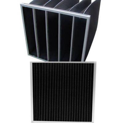 供应VTF活性炭板式过滤器 活性炭袋式过滤器