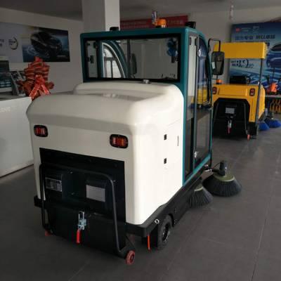 重庆物业小区驾驶室式扫地机-山东瑞立环保