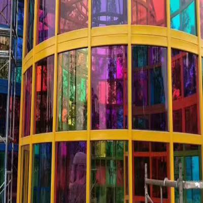 个旧彩色玻璃订做-狼道玻璃-个旧彩色玻璃