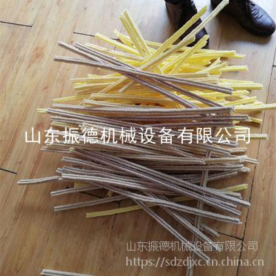 河南订购多花型玉米粒膨化机 自熟型空心弯管膨化机 振德牌 新款玉米棍糖棒机