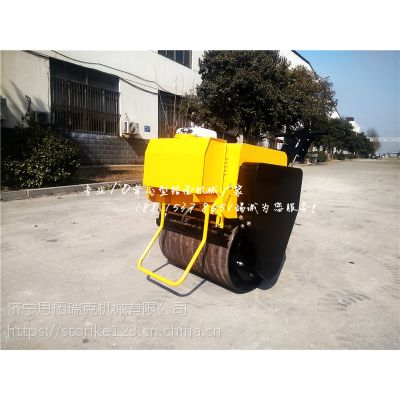 思拓瑞克SVH30供应手扶小型压路机 单钢轮震动压土机 柴油电启动手扶单轮压路机