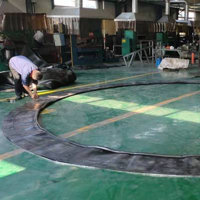 河北锦虹厂家生产帘布橡胶板规格型号大全 地铁洞门帘布橡胶板安装方法及说明