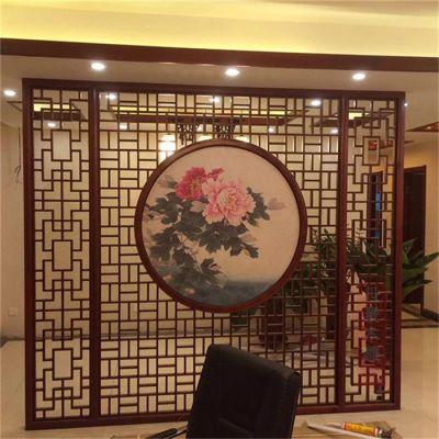 惠州地产售楼部造型铝单板 木纹铝方通 铝花格隔断定制