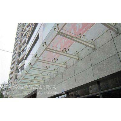 卫辉原阳新乡优质玻璃雨棚钢结构卫辉辉县优质轻钢雨棚车棚