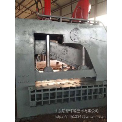 2019新款龙门式液压剪切机不锈钢3-4个厚的切断机型号思路600吨液压剪切机