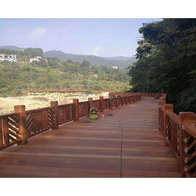 阳台防腐木地板-天津防腐木地板-安徽省德林贵景观公司(查看)