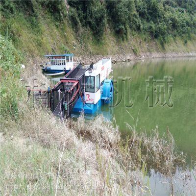 水库清污船、漂浮垃圾水草打捞机械