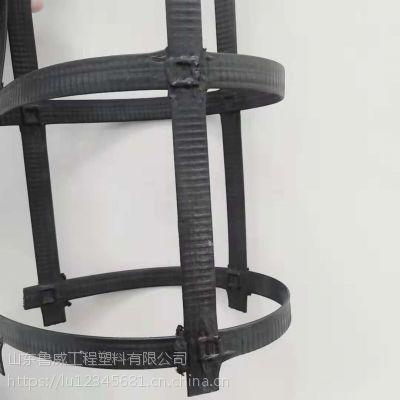 厂家出售钢塑复合土工格栅 价格低 凸点钢塑土工格栅