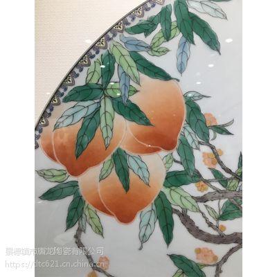 粉彩瓷板画 景德镇 陶瓷 名家瓷板画厂家