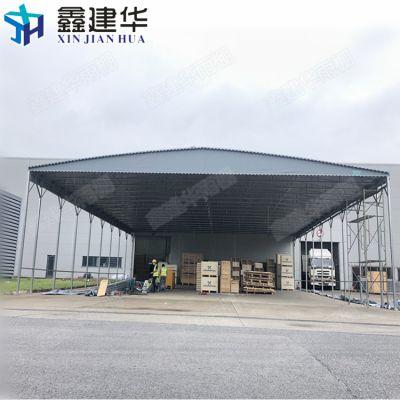 秦皇岛雨棚布厂家供应活动推拉蓬_户外电动伸缩篷制作报价