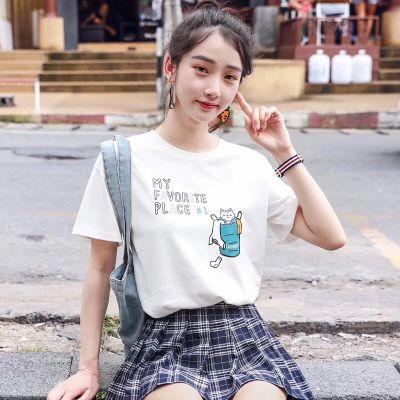 便宜韩版女装上衣纯棉T恤女士短袖换季亏本清货广州尾货批发厂家