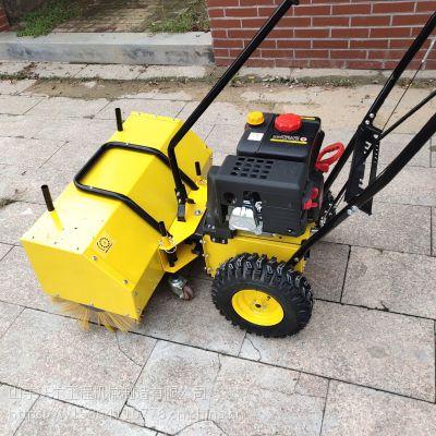 手推式滚刷扫雪机 隆鑫汽油机 小型便捷式扫雪机