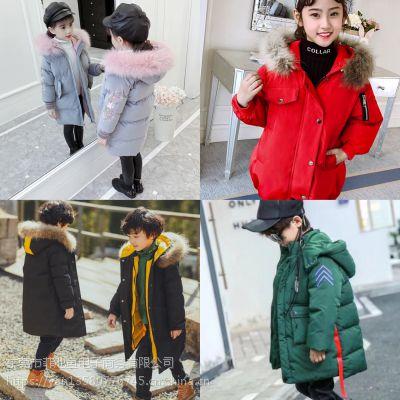 湖州织里产业带童装批发50元以下质量好又韩版的儿童衣服批发新款双层加厚绒毛衣批发