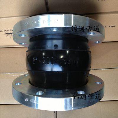热销KXT锻打法兰连接橡胶软接头 耐高压软连接源头厂家一件代发