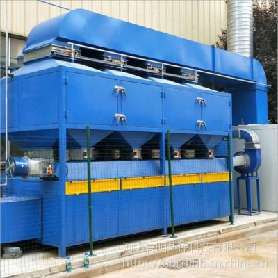 RCO催化燃烧设备的原理晨明环保