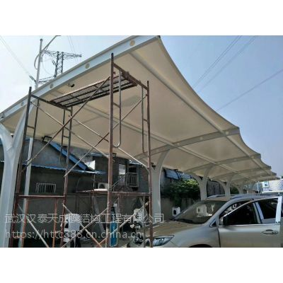 仙桃公交车停车棚制作 仙桃充电桩膜结构