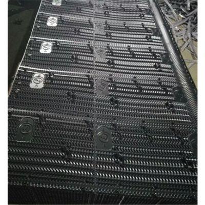 PVC水塔塑料散热片 BAC冷却塔填料胶片 更换PVC淋水片 品牌华庆