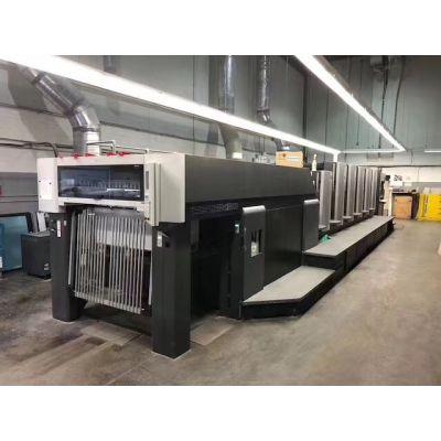 深圳高宝对开五色胶印机进口报关丨旧印刷机进口清关代理公司