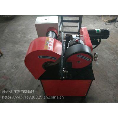 供应郑州铜管拉丝抛光机 铁管除锈外圆抛光机 电动台式磨光机