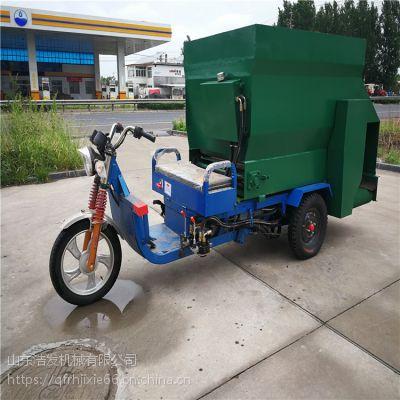 适合不同牛场用撒草车 拖拉机牵引式TMR撒料车