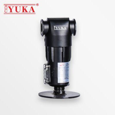 YUKA宏日嘉旋风式气水分离器FWS020压缩空气过滤器除水